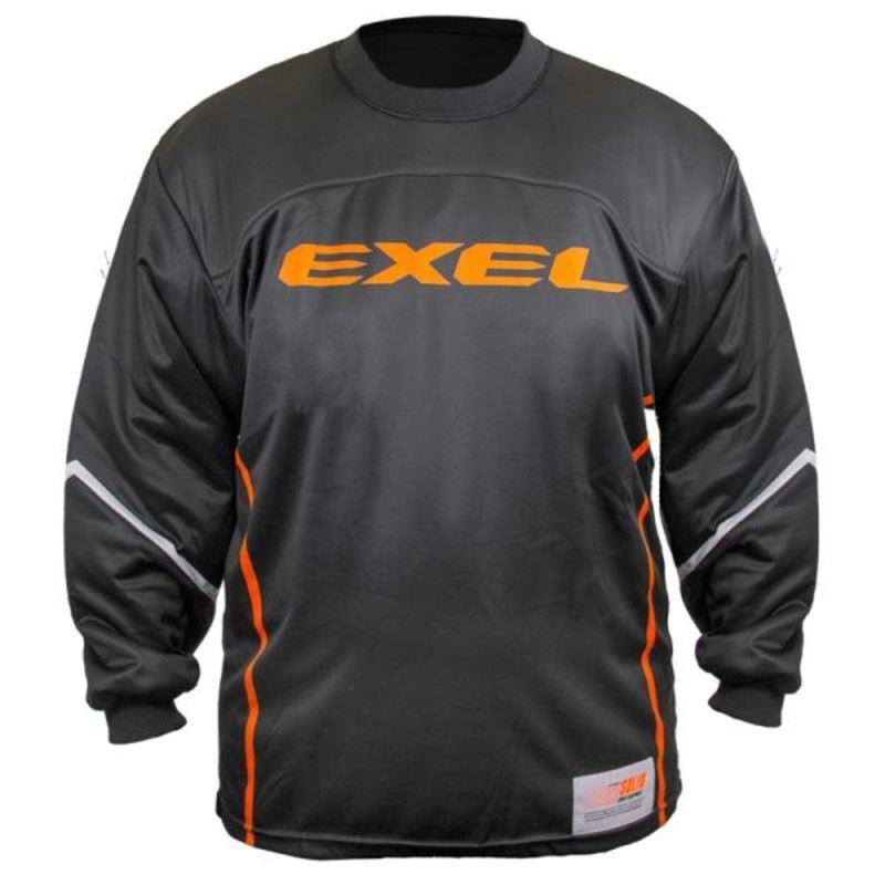 Brankársky dres EXEL S100 GOALIE JERSEY black / orange