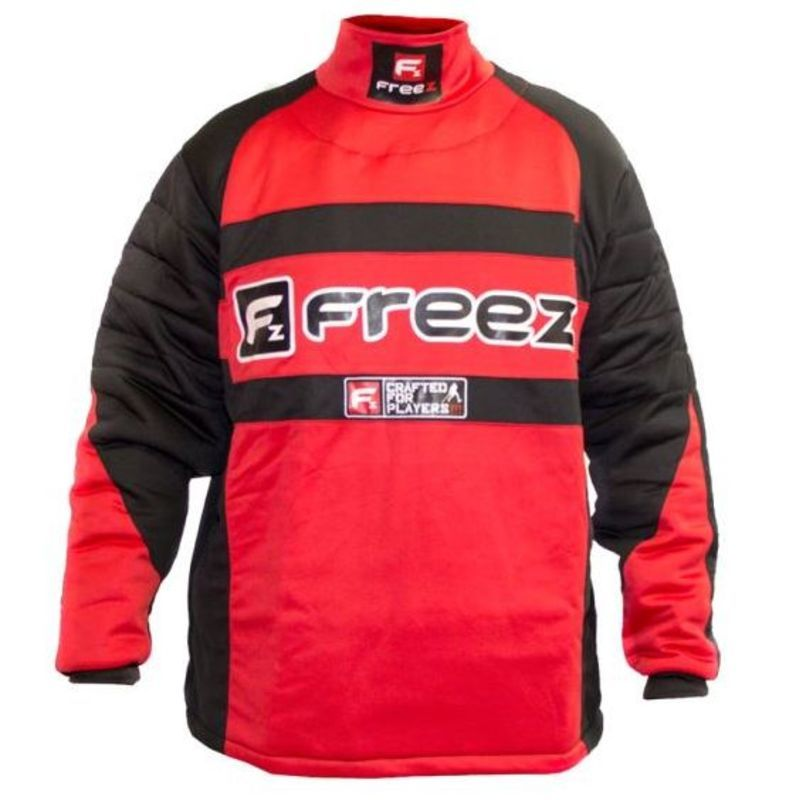 a6811533e1e93 Brankársky dres FREEZ Z-80 GOALIE SHIRT BLACK/RED senior