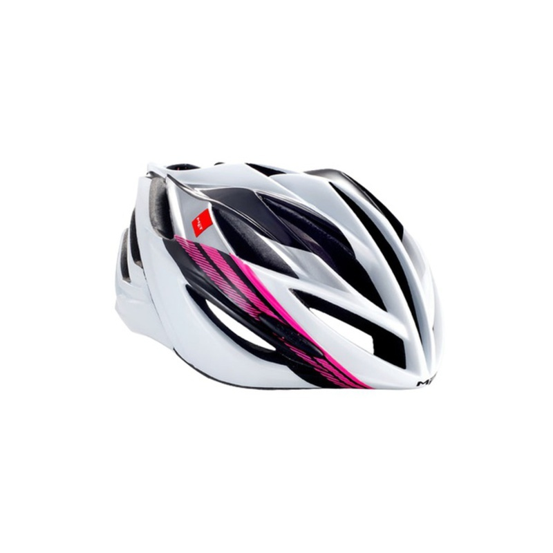 Helma MET Forte biela / čierna / ružová