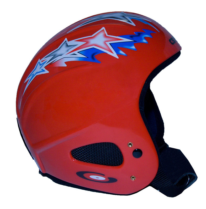 Lyžiarska helma Gabel Issimo Ridge Back JR Star Red