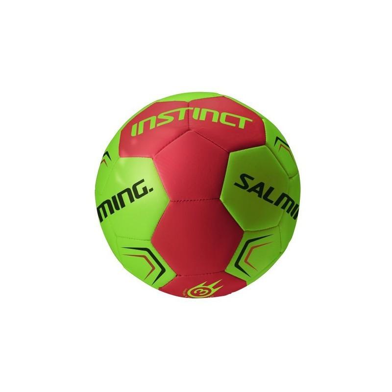 Hádzanárska lopta SALMING Instinct Handball Lime / Red