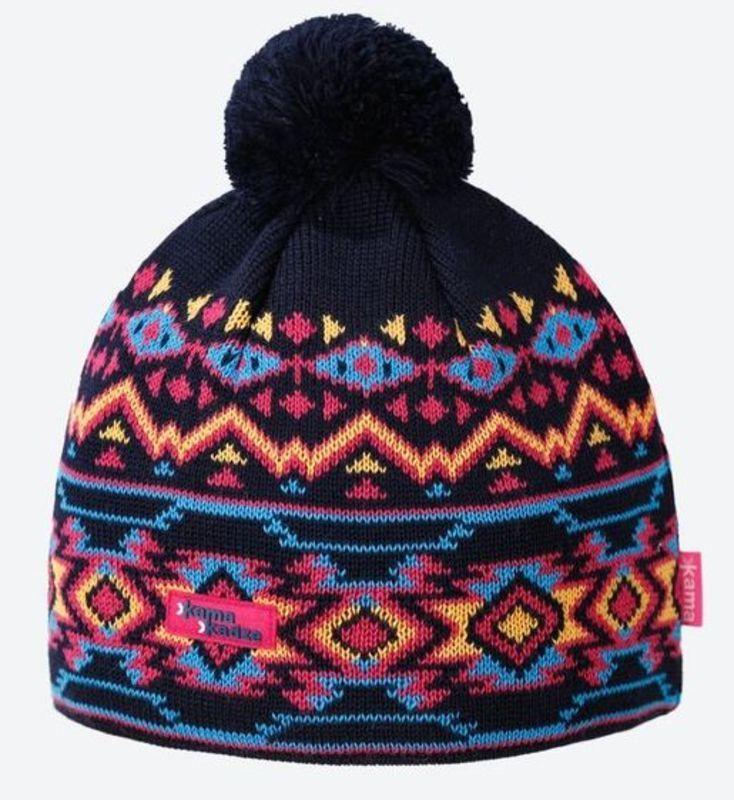 Pletená čiapka Kama K60 108