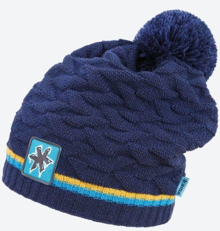 Pletená Merino čiapka Kamakadze K61 108