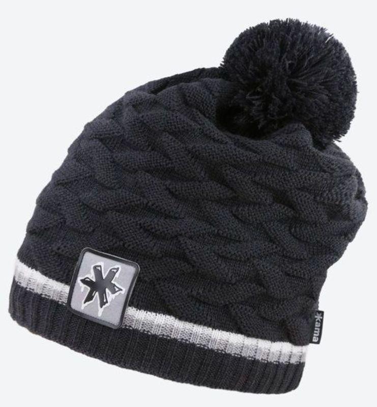 Pletená Merino čiapka Kamakadze K61 111