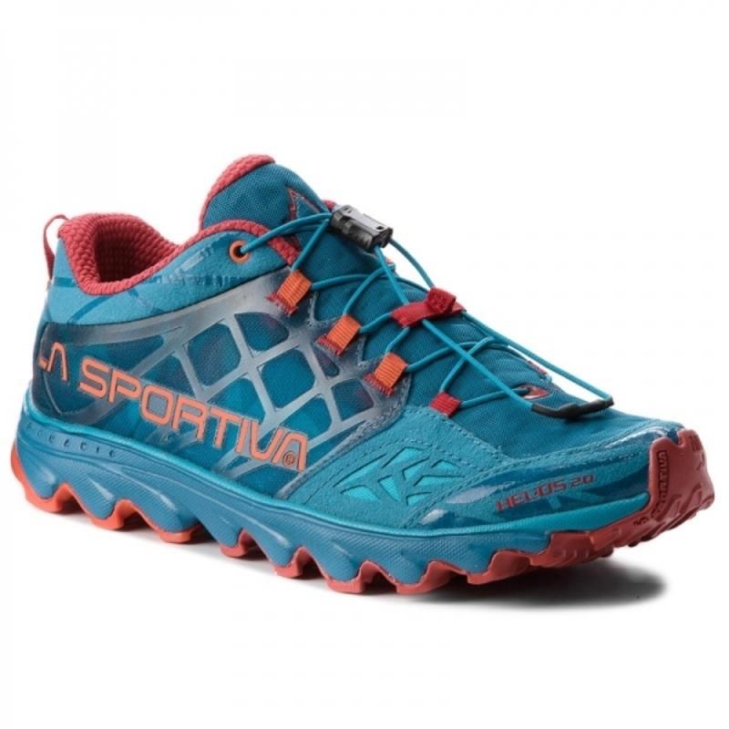 Topánky La Sportiva Helios 2.0 Men tropic blue / tangerine 45