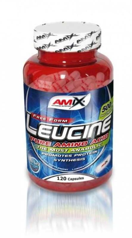 Amix L-Leucine PURE 1000mg, 120 kapsúl