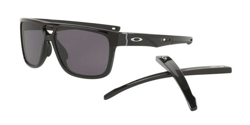 Slnečný okuliare OAKLEY Crossrange Patch PolBlk w/ Warm Grey OO9382-0160