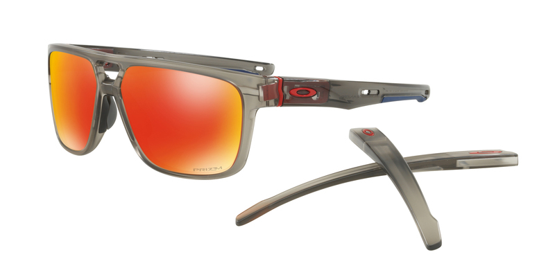 Slnečný okuliare OAKLEY Crossrange Patch MttGryInk w/ PRIZM Ruby OO9382-0560
