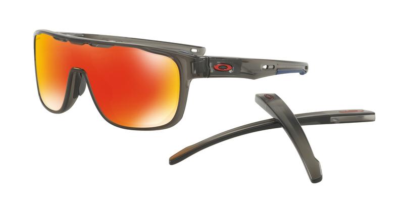 Slnečný okuliare OAKLEY Crossrange Shield MttGySMk w/ PRIZM Ruby OO9387-0431