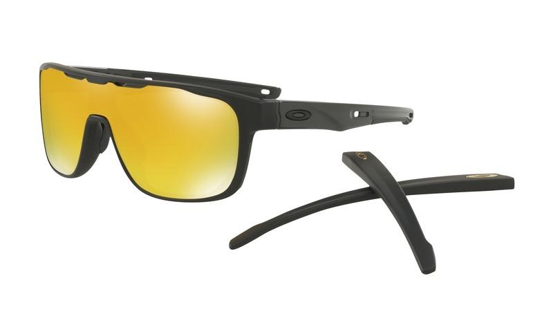 Slnečný okuliare OAKLEY Crossrange Shield MTT Black w/ 24K Iride OO9387-0631