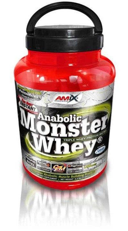 Amix Monster Whey ® - Malina