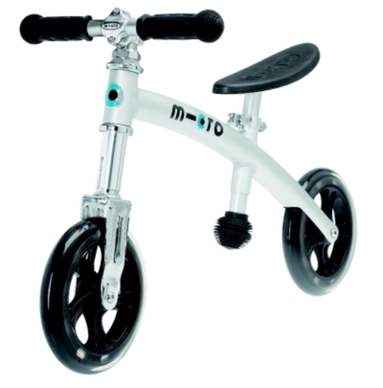 Odrážadlo Micro G-Bike+ GB0008 light alu