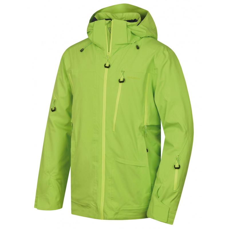 Pánska lyžiarska bunda Husky MONTRE M zelená M