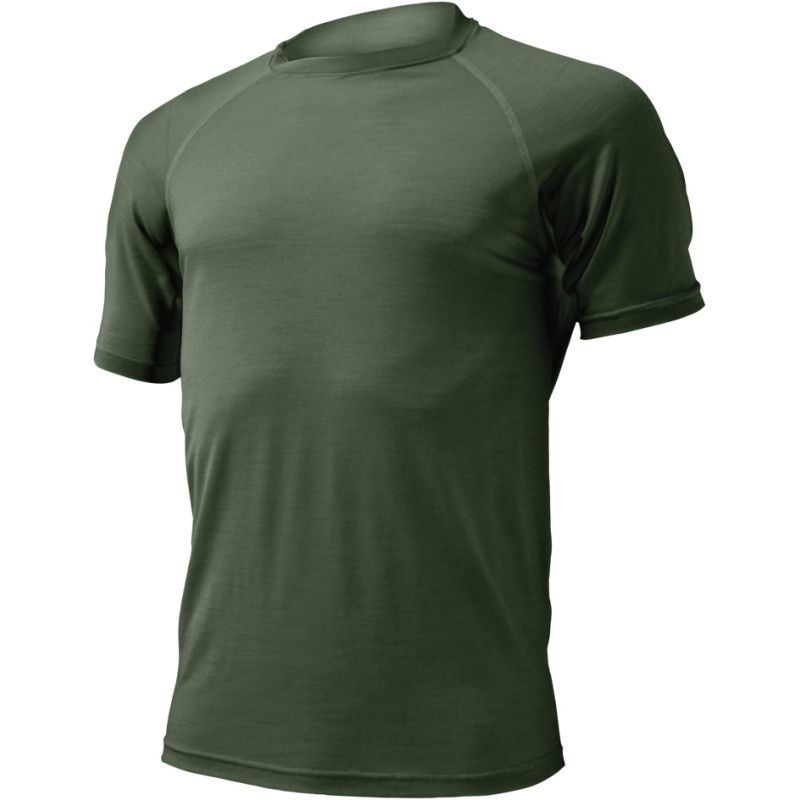 Merino triko Lasting QUIDO 6262 zelené M