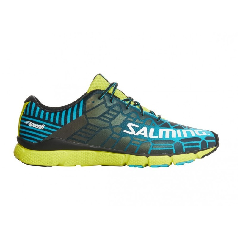 Topánky Salming Speed 6 Men Blue / Lime 9 UK