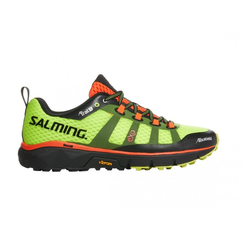 Topánky Salming Trail 5 Men Safety Yellow 7 UK