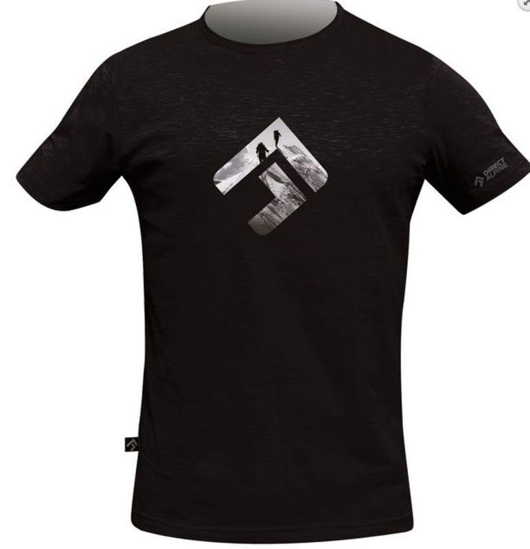 Tričko Direct Alpine Bosco black (brand) XL