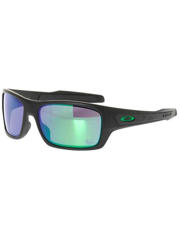 Slnečný okuliare OAKLEY Moto GP Turbine Matte Black w / jade Iride OO9263-15
