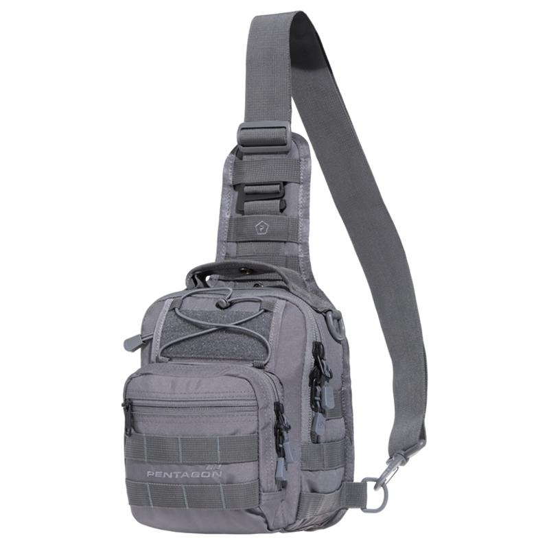 Taktická brašňa cez rameno PENTAGON® UCB 2.0 sivá
