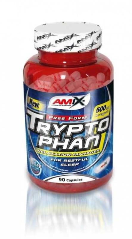 Amix L-tryptophan 500mg, 90 kapsúl