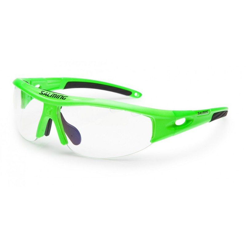 Okuliare SALMING V1 Protec Eyewear Junior Gecko Green