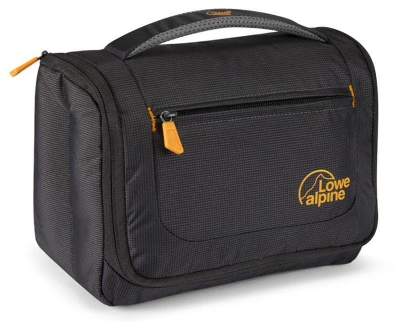 Toaletka Lowe Alpine Wash Bag Large Antracit / amber