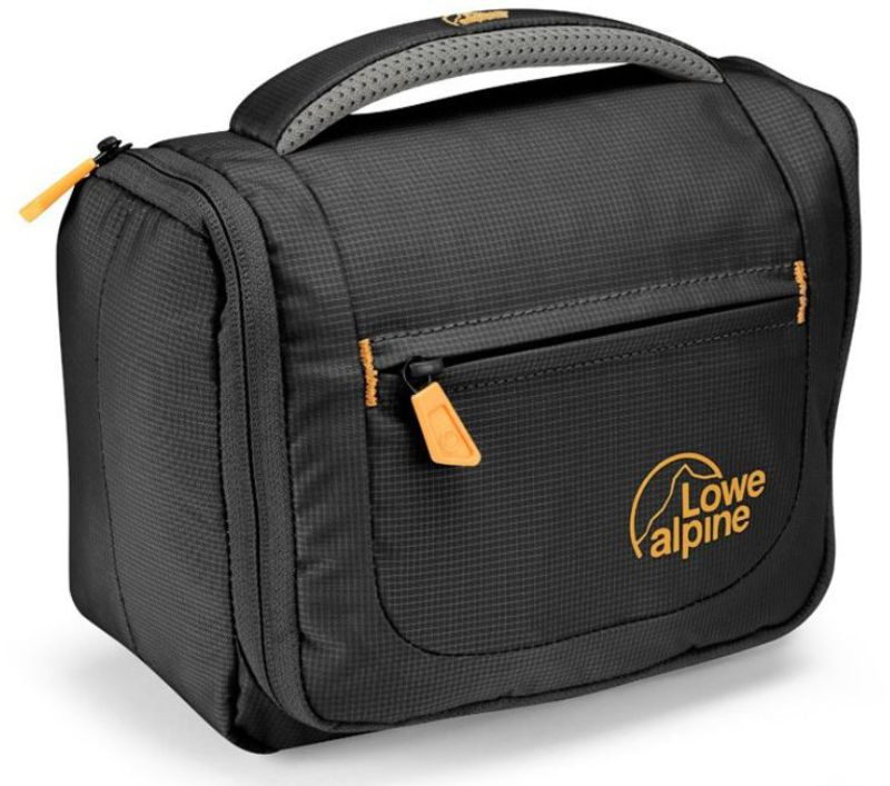 Toaletka Lowe Alpine Wash Bag Small Antracit / amber