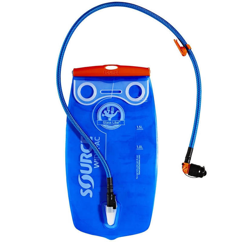 Vak na vodu SOURCE Premium Kit 2L Transparent-Blue