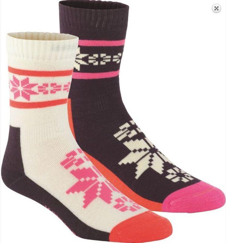 Ponožky Kari Traa RUSA WOOL SOCK 2PK Mau - gamisport.sk a2f4ea8212