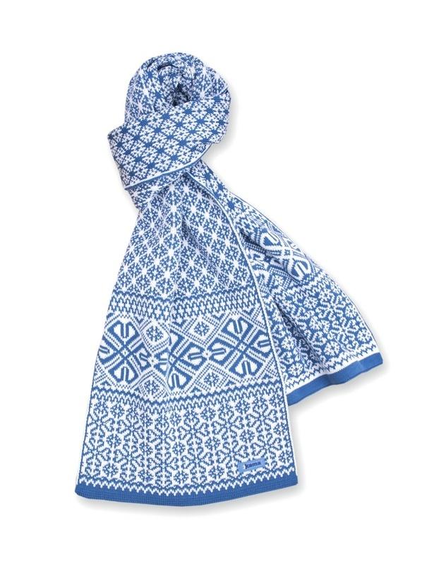 Pletená šál Kama S16 107 svetlo modrá