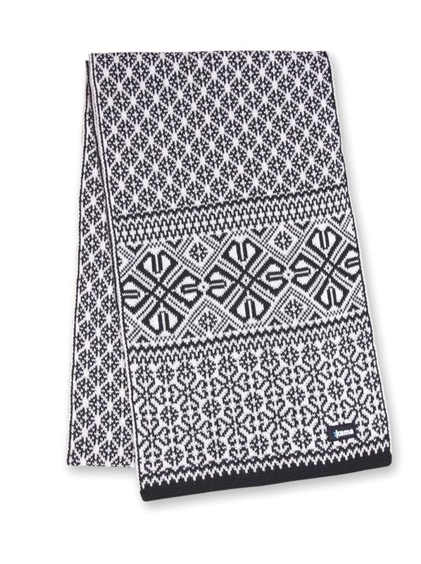 Pletená šál Kama S16 110 čierna