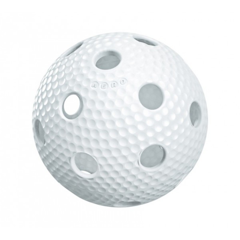Florbalový balónik Salming Aero Plus Ball White