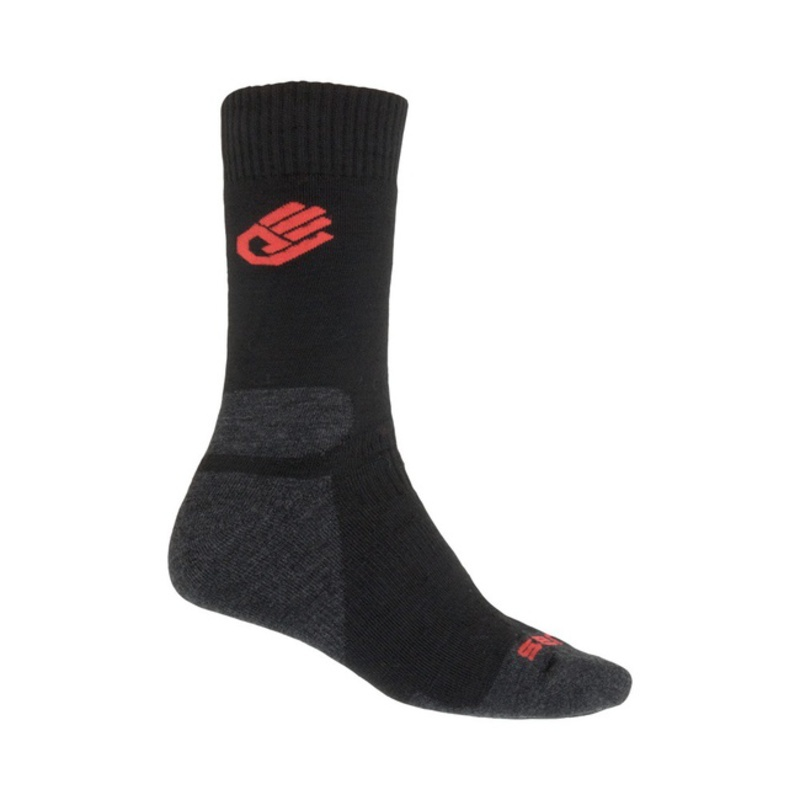 Ponožky Sensor Merino Wool Expedition čierne 13200081 3/5 UK