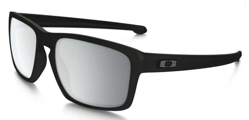 70049b35c Slnečný okuliare OAKLEY Sliver Machinist Matte Blk w / chrome Iride  OO9262-26