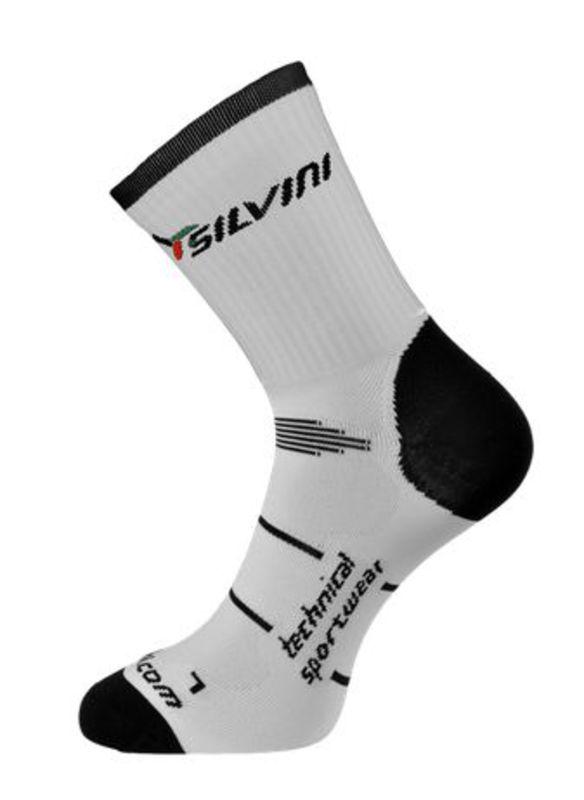 Ponožky Silvini Orato UA408 white