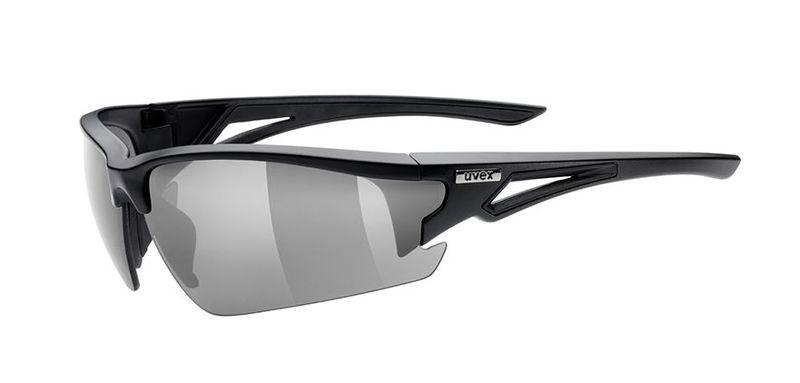 Športové okuliare Uvex Sportstyle 108 - black mat (2216)