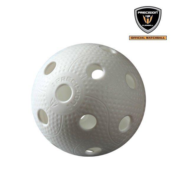 Florbalový balónik Precision Super League White