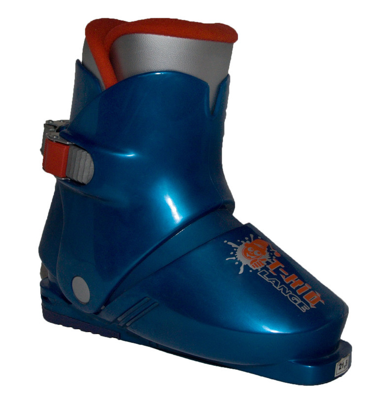 Lyžiarske topánky Lange T-Kid blue