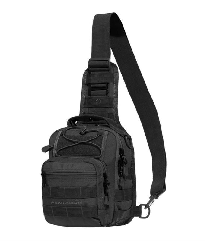 Taktická brašňa cez rameno PENTAGON® UCB 2.0 čierna