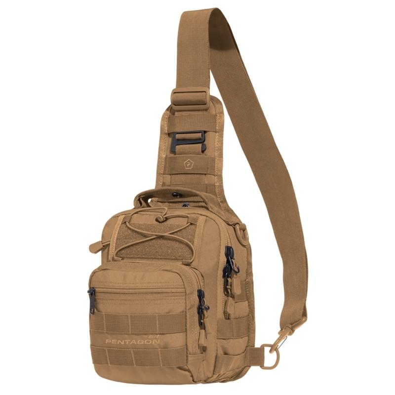 Taktická brašňa cez rameno PENTAGON® UCB 2.0 coyote