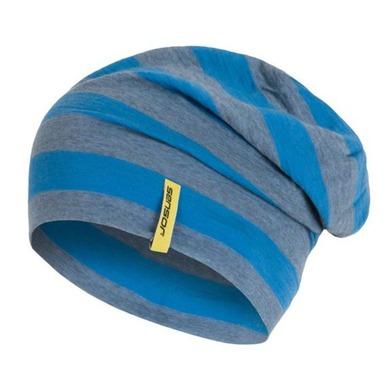 Čiapka Sensor Merino Wool modrá pruhy 16200197 L