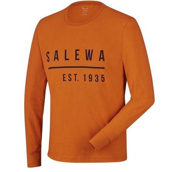 Tričko Salewa Binni CO M L/S TEE 26018-4840 XXL