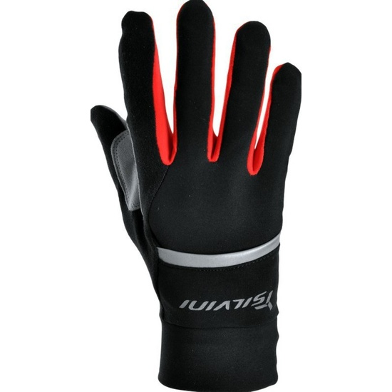 Unisex rukavice Silvini Isonzo UA905 black-red XL