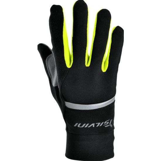 Unisex rukavice Silvini Isonzo UA905 black-neon XL