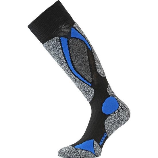 Lyžiarske ponožky Lasting SWC 905 čierna L (42-45)