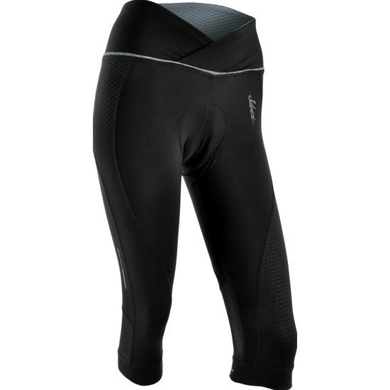 Dámske 3/4 cyklistické nohavice Silvini TINELLA WP1010 black