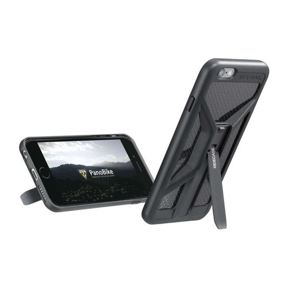 Obal Topeak RideCase pre iPhone 6, 6s čierny TT9851B
