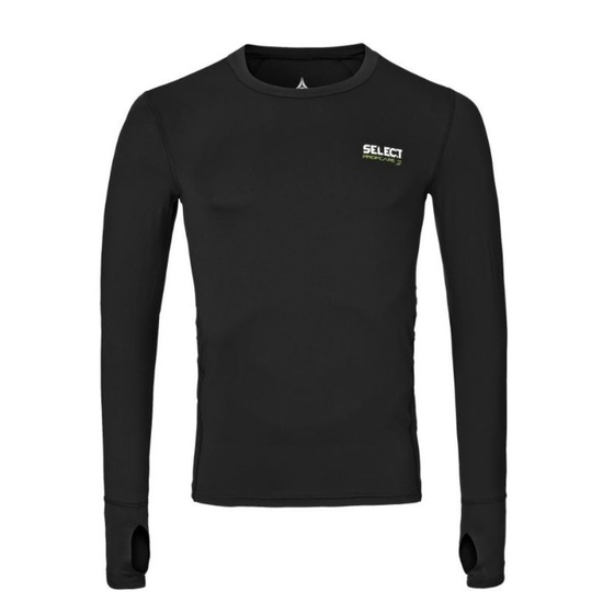 Kompresný triko Select Compression T-shirt L/S 6902 čierna S
