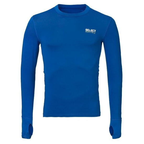 Kompresný triko Select Compression T-shirt L/S 6902 modrá XXL