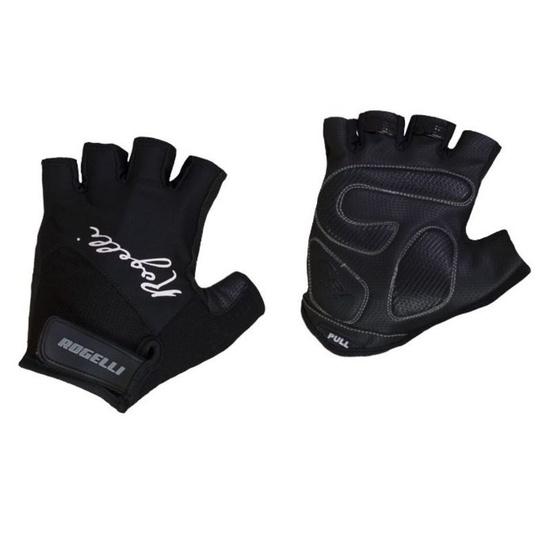 Dámske rukavice na kolo Rogelli DOLCE, čierne 010.612. S